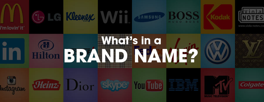 What's in a brand name